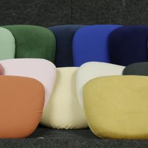 Seat pad colours