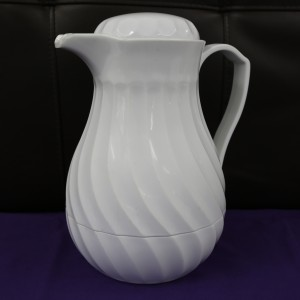White Thermos Coffee Pot