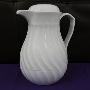 White Thermos Coffee Pot