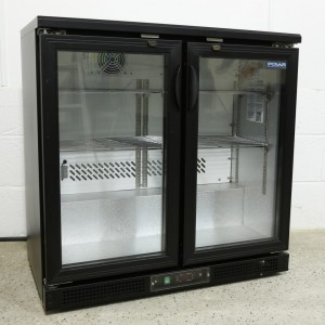 Double Glass Fronted Wine Chiller